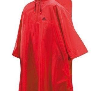 Vaude Poncho reppukäyttöön punainen