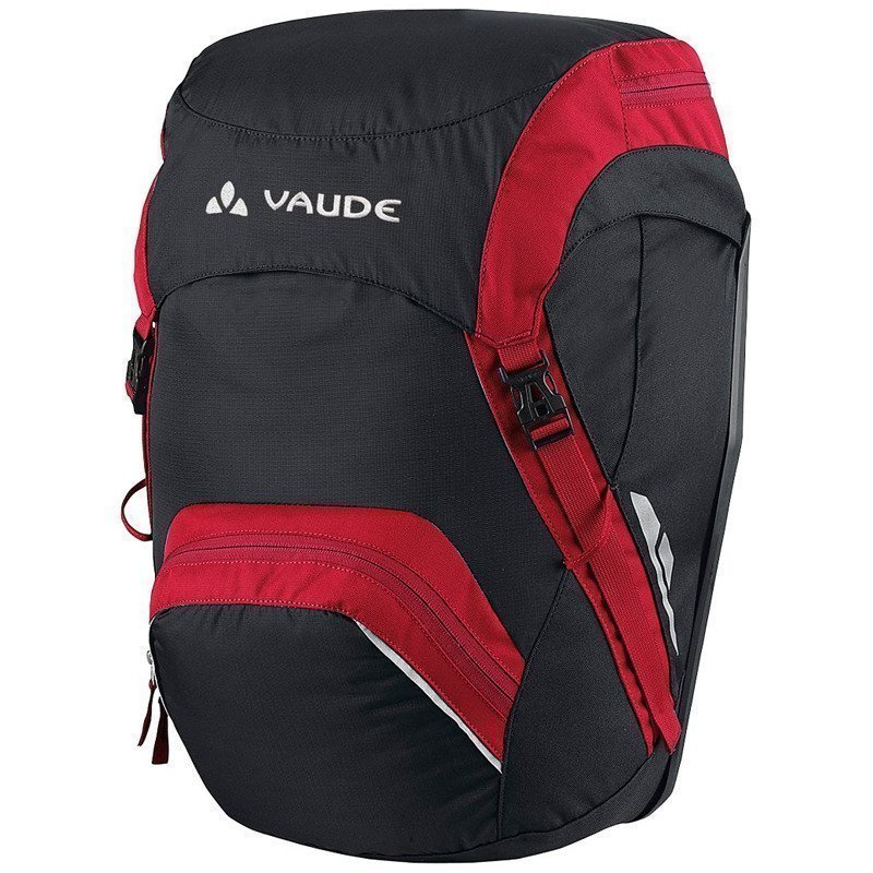 Vaude Road Master Back 1SIZE Black/Red