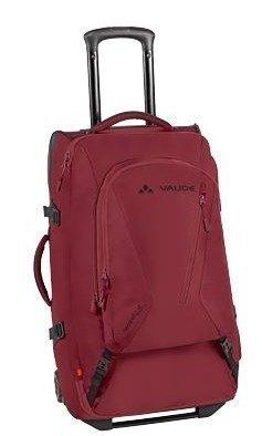 Vaude Tecorail 65 matkalaukku reppusangoilla punainen