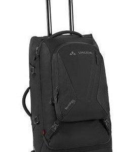 Vaude Tecorail 80 matkalaukku reppusangoilla musta
