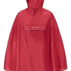 Vaude VALDIPINO PONCHO punainen