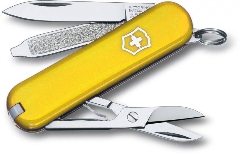 Victorinox Classic SD Keltainen