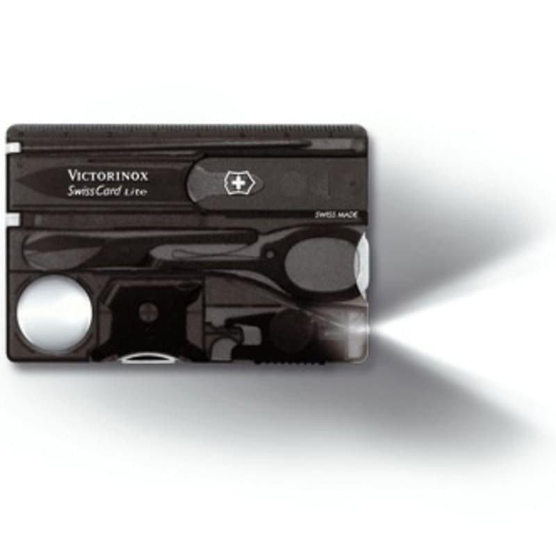 Victorinox SwissCard Lite SVART TRANSPARENT