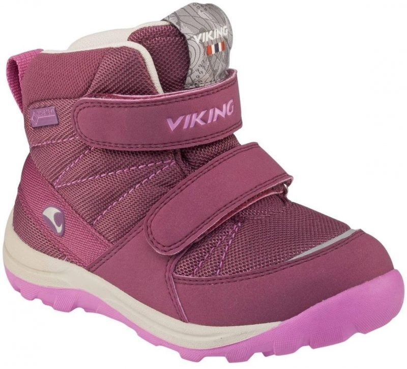 Viking Rissa Kid GTX Plum 26