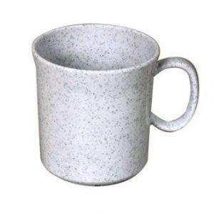 Waca melamiininen muki 400 ml graniitti