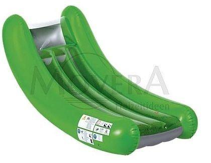 Wehncke Lounger uimapatja yhdelle 180 x 60cm vihreä