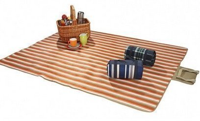Wehncke picnic viltti oranssi