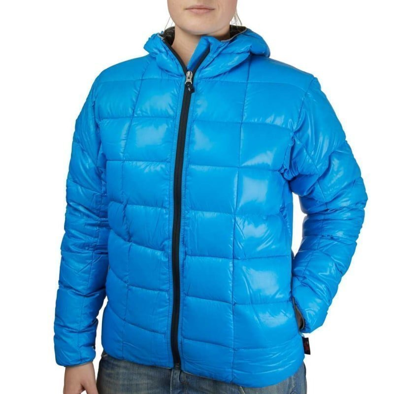 Western Mountaineering Flash Jacket Dam L Electric Blue