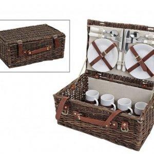 Willow picnic kori 4 hengelle 45x30x19