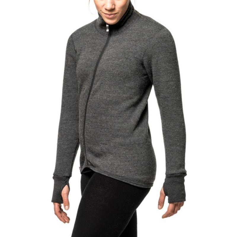 Woolpower Full Zip Jacket 400 L Grey