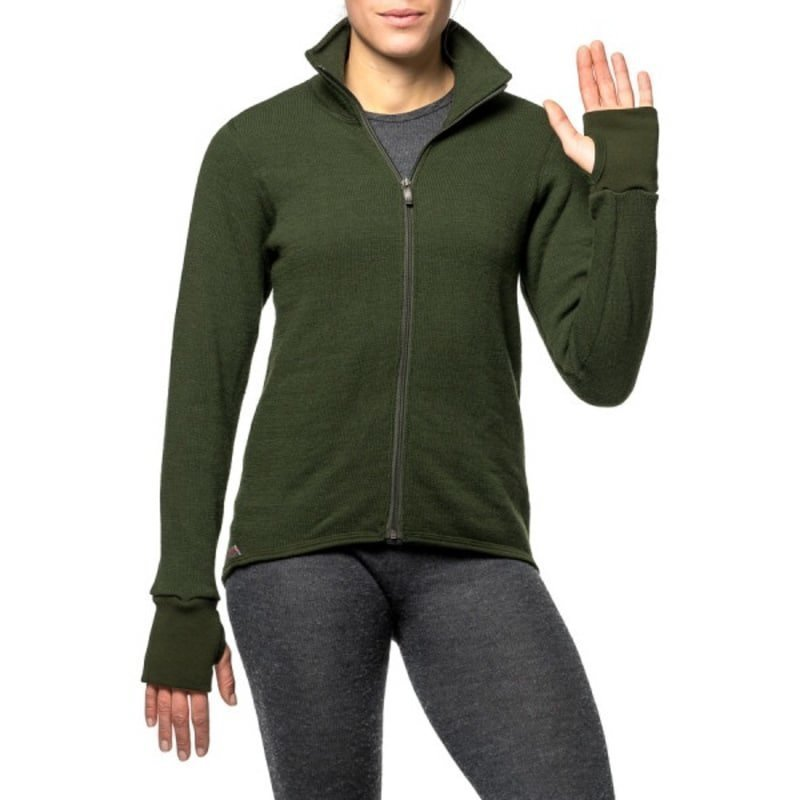 Woolpower Full Zip Jacket 400 M Green