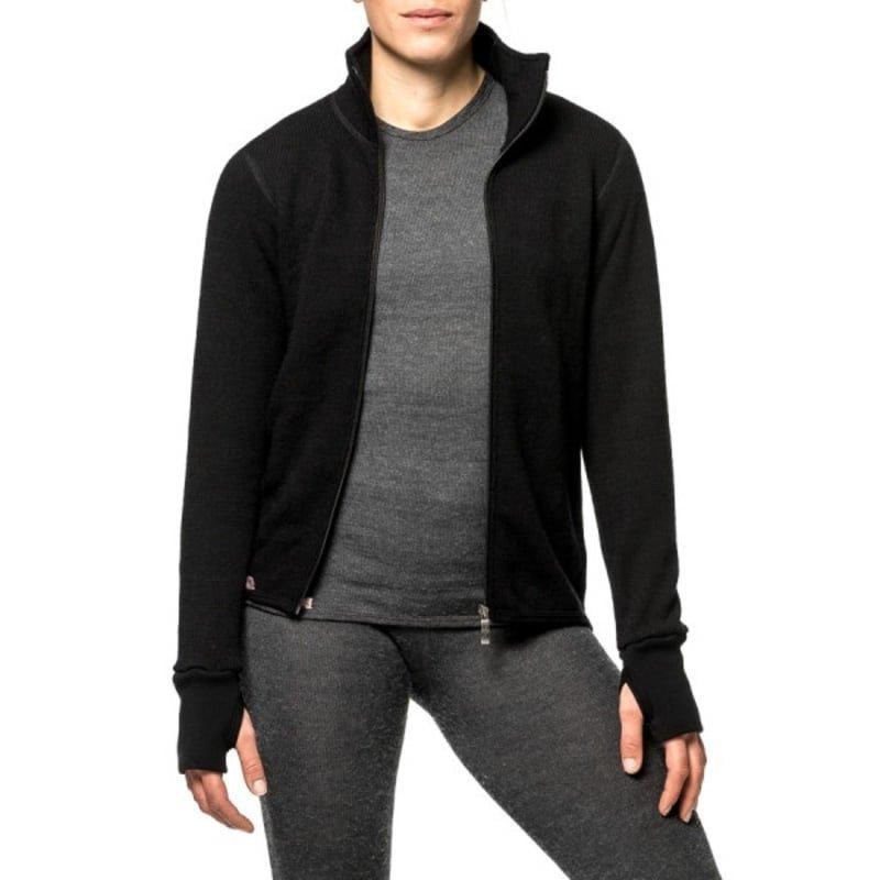 Woolpower Full Zip Jacket 400 S Black