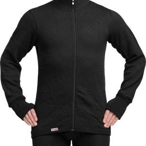 Woolpower Full Zip Jacket 400 musta