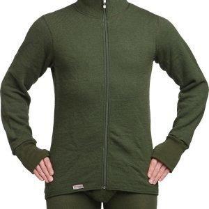 Woolpower Full Zip Jacket 400 vihreä