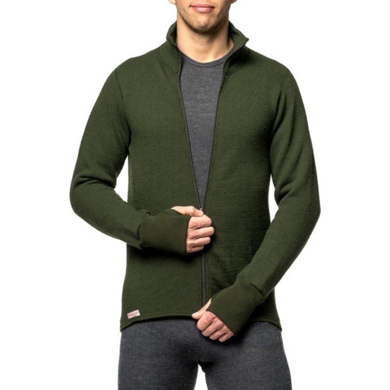 Woolpower Full Zip Jacket 600 M Green