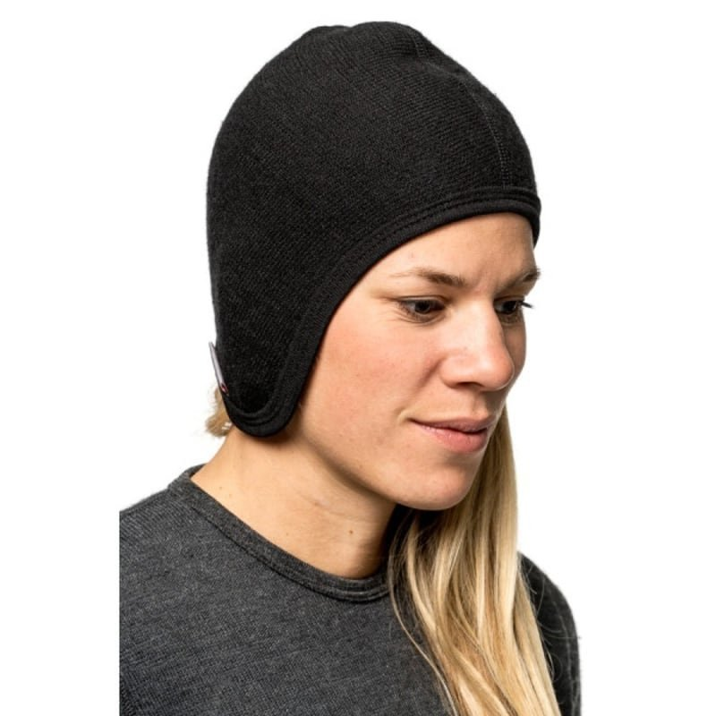Woolpower Helmet Cap 400 1SIZE Black