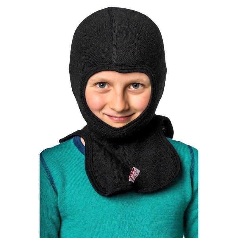 Woolpower Kids Balaclava 200 110 Pirate Black
