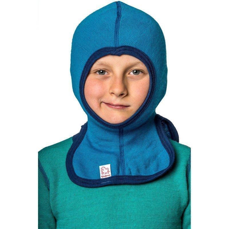 Woolpower Kids Balaclava 200 140 Dolphine Blue