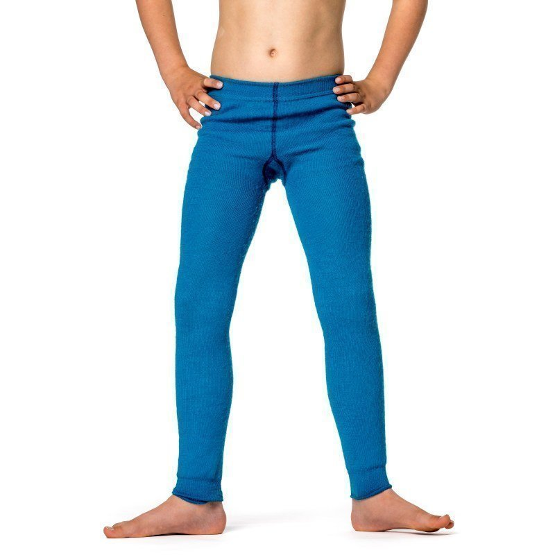 Woolpower Kids Long Johns 200 86/92 Dolphine Blue