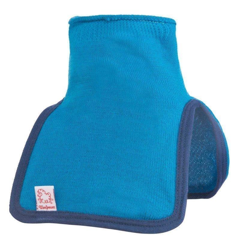 Woolpower Kids Mock Turtleneck 200 140 Dolphine Blue