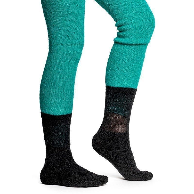 Woolpower Kids Socks 200 21 Pirate Black