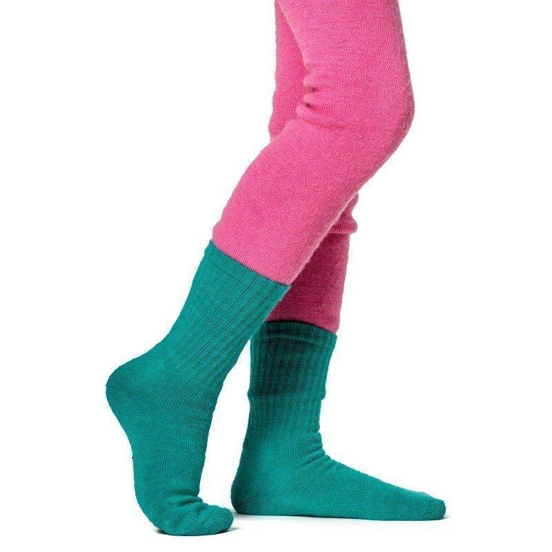 Woolpower Kids Socks 200 21 Turtle Green