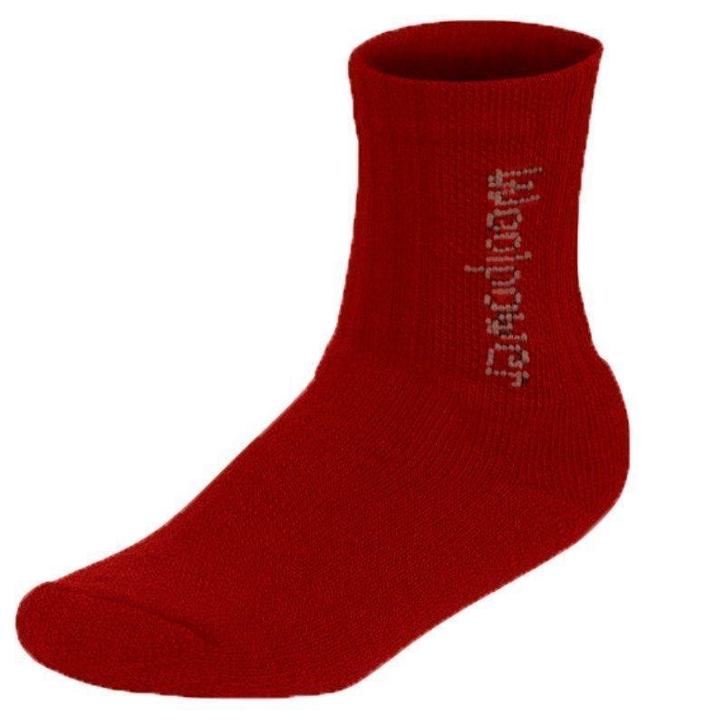 Woolpower Kids Socks Logo 400 21 Red