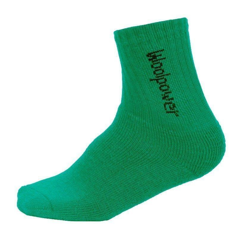 Woolpower Kids Socks Logo 400 24 Light Green