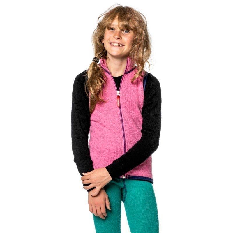 Woolpower Kids Vest 400 86-92 Sea Star Rose