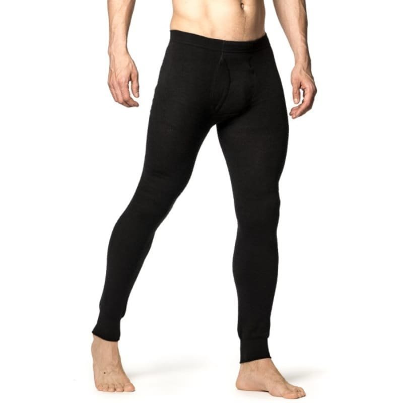 Woolpower Long Johns with Fly 200 M Black