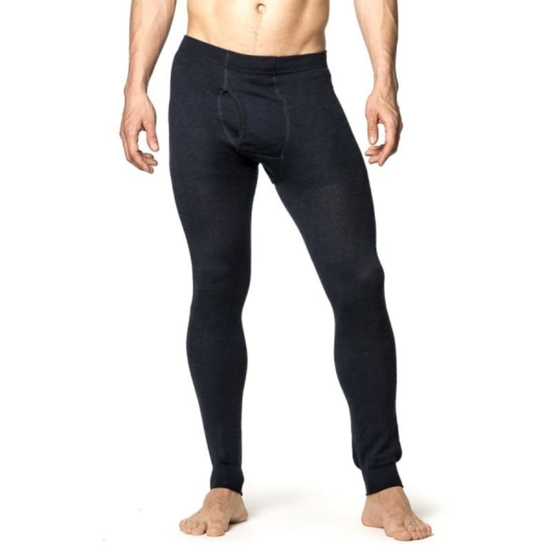Woolpower Long Johns with Fly 200 S Dark Navy