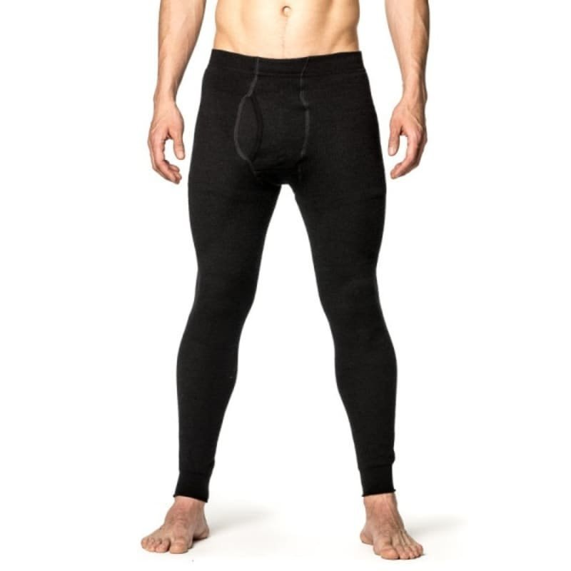 Woolpower Long Johns with Fly 400 L Black