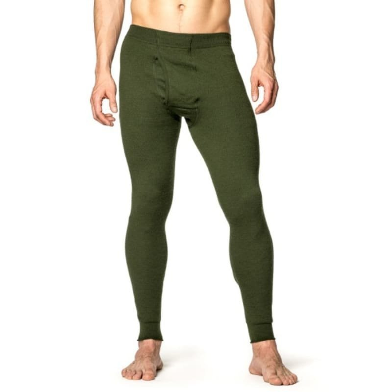 Woolpower Long Johns with Fly 400 S Green