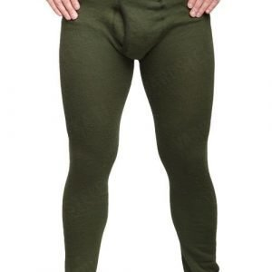 Woolpower Long Johns with fly 200 vihreät