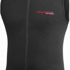 Woolpower Vest 400 Musta M