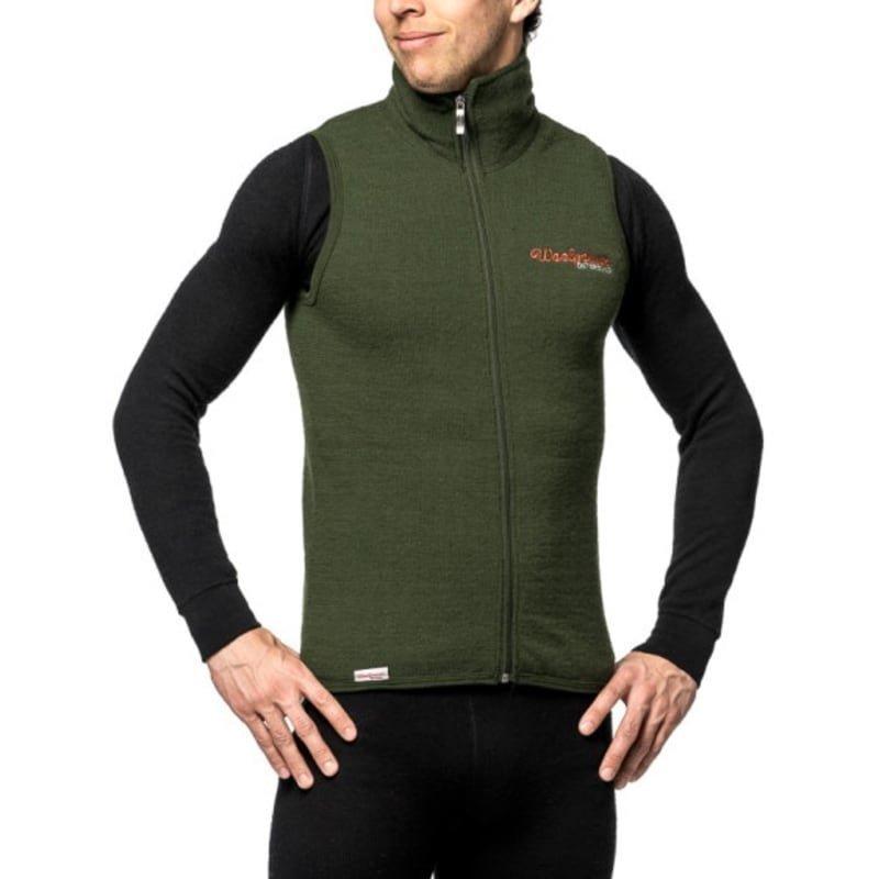Woolpower Vest 400 S Green