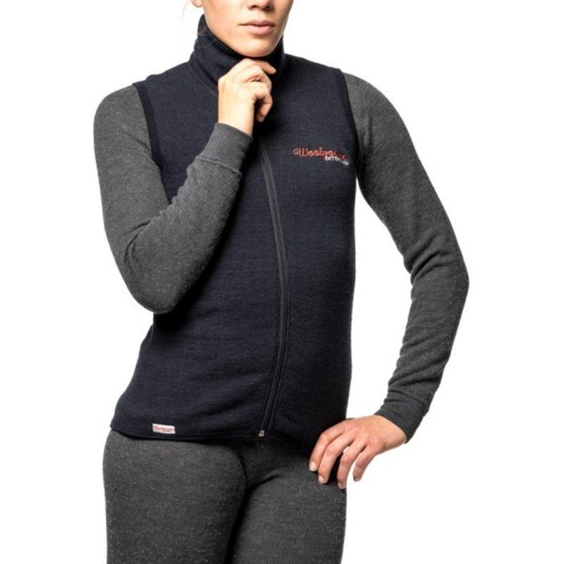 Woolpower Vest 400 XXS Black