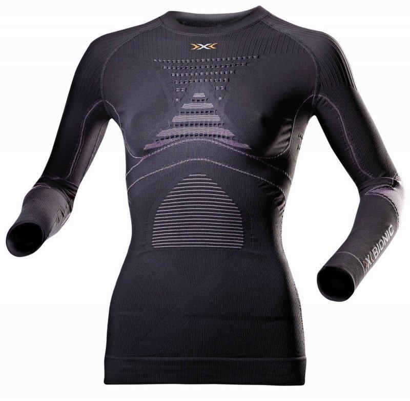 X-Bionic Accumulator Evo Shirt Women Dark Grey L/XL