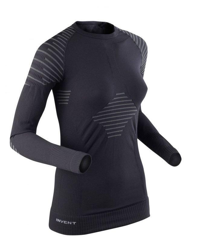 X-Bionic Invent LS Women Musta XL