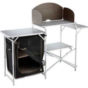 XL aluminium kitchen stand and cupboard