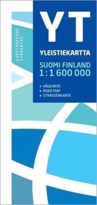 YT Yleistiekartta Suomi 2013 1:1