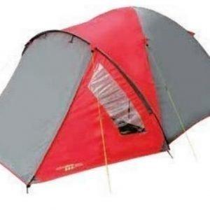Yellowstone Ascent 3 hengen teltta punainen
