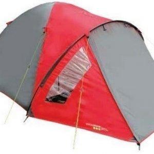 Yellowstone Ascent 4 hengen teltta punainen