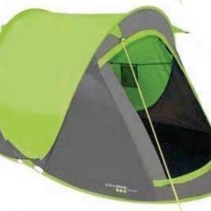 Yellowstone Fast Pitch 2 hengen teltta Lime