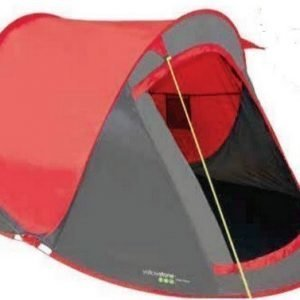 Yellowstone Fast Pitch 2 hengen teltta Punainen