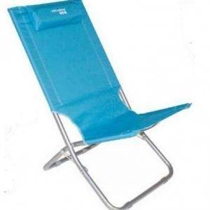 Yellowstone Lounger Chair taittuva rantatuoli sininen