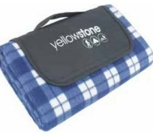 Yellowstone Luxury Fleece Picnic viltti sininen