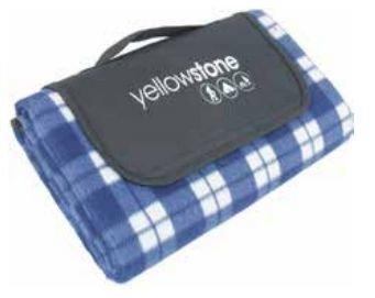 Yellowstone Luxury Fleece Picnic viltti sininen