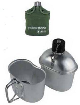 Yellowstone Vesi kenttäpullo ja pakki setti