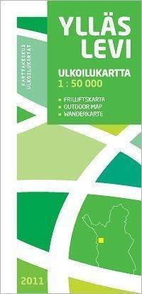 Ylläs Levi ulkoilukartta 1:50 000 2011